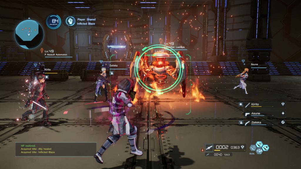 Sword Art Online Fatal Bullet 4
