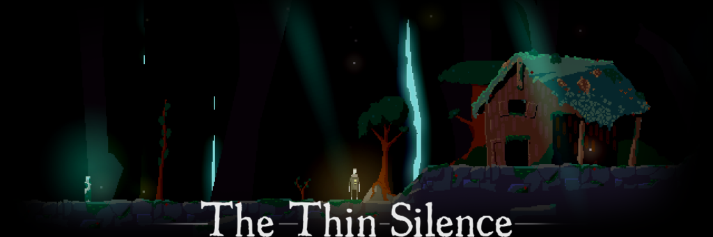 The thin silence logo