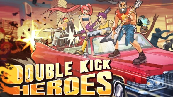 Double Kick Heroes launches on Early Access today!