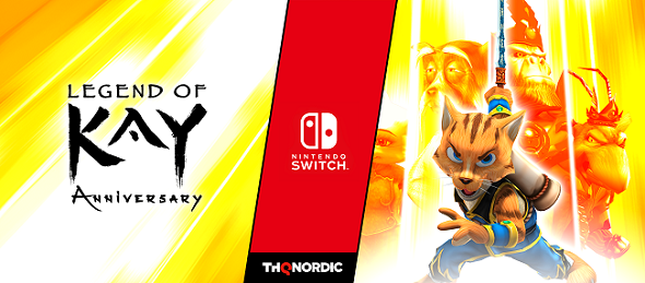 Legend of Kay – out now on Nintendo Switch!