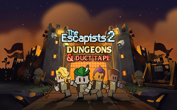 The Escapists 2 – Dungeons and Duct Tape DLC out now!
