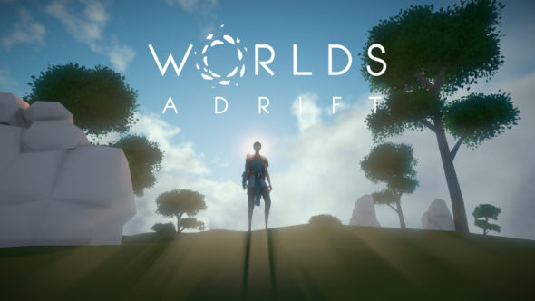 Float away in Worlds Adrift