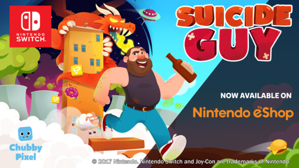 Suicide Guy released on Nintendo Switch