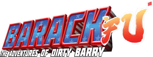 Barack Fu: The Adventures of Dirty Barry as a (secret!) bonus game for physical copies of a certain fighting game