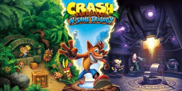 Crash Bandicoot N. Sane Trilogy – Now available on even more platforms!