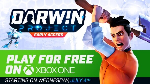 Darwin Project goes free to play on Xbox One today!