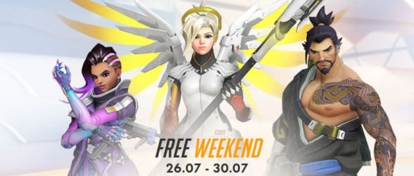 Overwatch free-to-play weekend for PC players