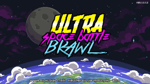 Ultra Space Battle Brawl now on steam