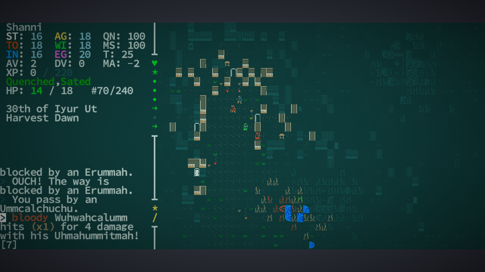 Caves Of Qud World Map.3rd Strike Com Caves Of Qud Review