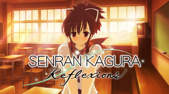 Touchy feely SENRAN KAGURA Reflexions launches on Switch