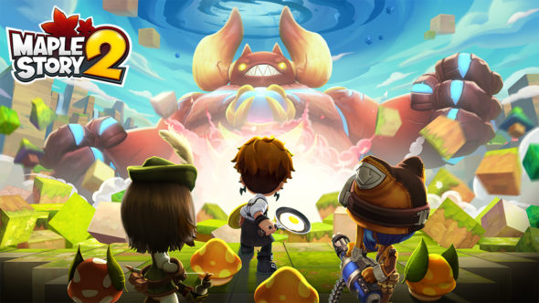 MapleStory 2 launches today!
