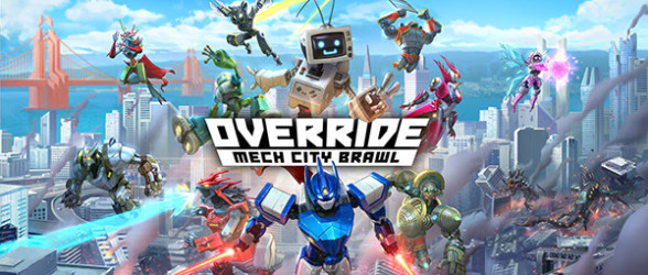 Override: Mech City Brawl launch trailer released