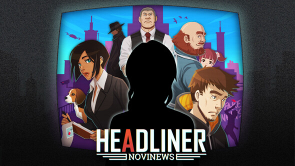 News Editor Sim Headliner: NoviNews Premieres on Steam October 23rd
