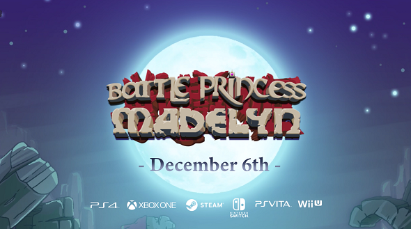 Battle Princess Madelyn – To be released next month!