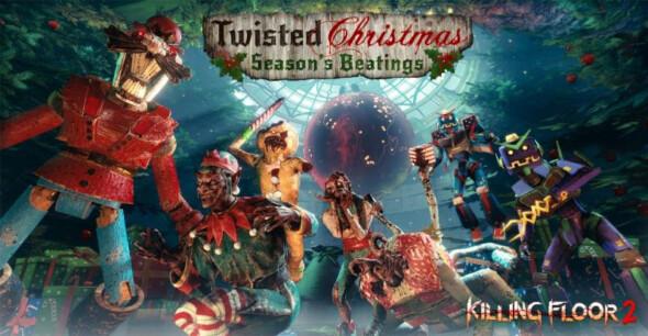 Killing Floor 2 – Twisted Christmas: Season's Beatings: features Gary Busey as Badass Santa