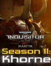 Warhammer 40,000: Inquisitor – Martyr Season Two is now live on pc