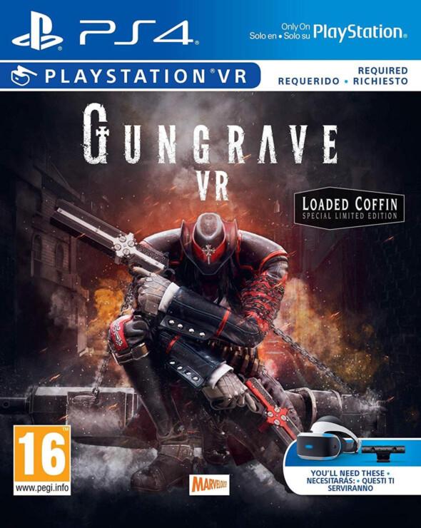 Gungrave VR confirmed for PSVR on 7th Dec
