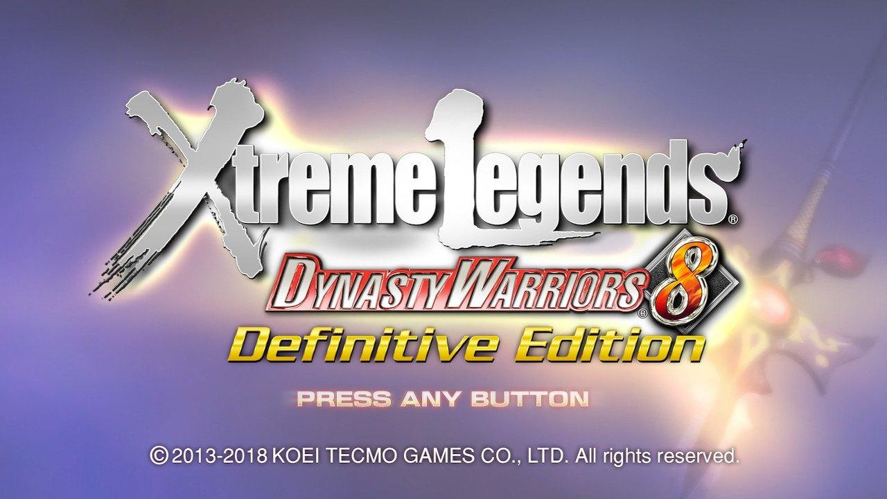 dynasty warriors 8 xtreme legends definitive edition steam