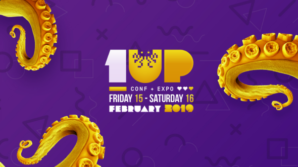 Find your info for the first 1UP gaming fair in Kortrijk here!
