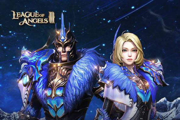Valentine was two weeks ago, but that's not the case in League of Angels III