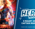 Hero Night: Captain Marvel – Movie Review