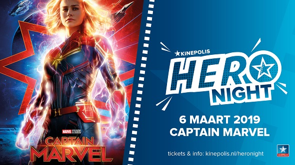 Kinepolis presents: Hero Night – Captain Marvel