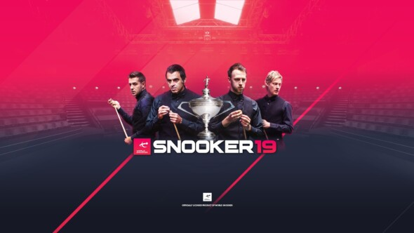 Snooker 19 launches Spring 2019 for PC, PlayStation 4, Xbox One and Nintendo Switch