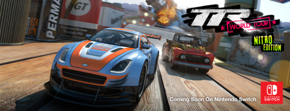 Table Top Racing Speeds onto Nintendo Switch with Split Screen Multi-player on 1st May 2019!
