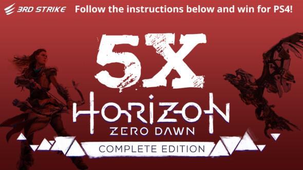 Contest: 5x Horizon Zero Dawn Complete Edition (PS4)