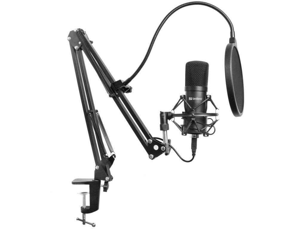 3rd sandberg streamer usb microphone kit hardware review. Black Bedroom Furniture Sets. Home Design Ideas