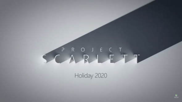 Project Scarlett announced for holidays 2020