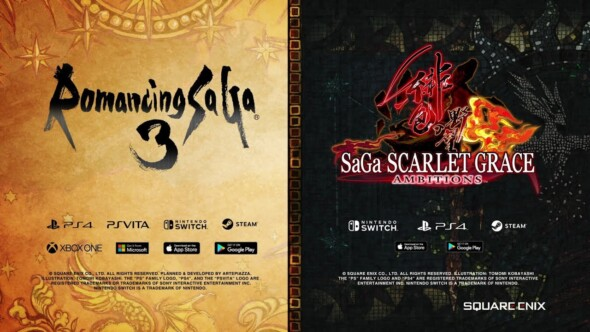 Classic SaGa-series making their comeback with two new titels!