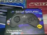 Retro-Bit 8 button Arcade Pad for Sega Saturn – Hardware Review