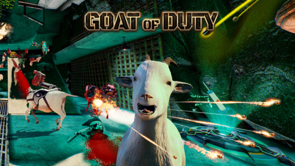 Goat of Duty on Steam Early Access July 10