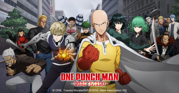Hit anime One Punch Man: Road to Hero arrives on mobile