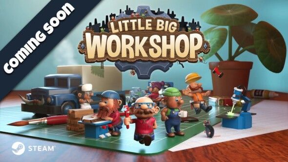 Become a factory tycoon when Little Big Workshop hits PC and Mac