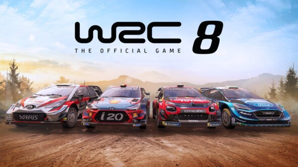 WRC 8 available now for the Switch