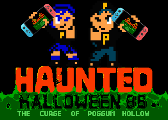 NES classics Haunted: Halloween '86 and Creepy Brawlers release on Nintendo Switch