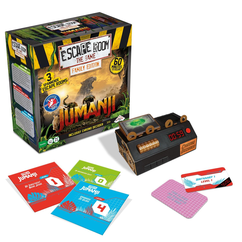3rd Strike Com Escape Room The Game Jumanji Family Edition Board Game Review