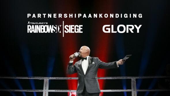 Tom Clancy's Rainbow Six Siege – Collaboration with GLORY