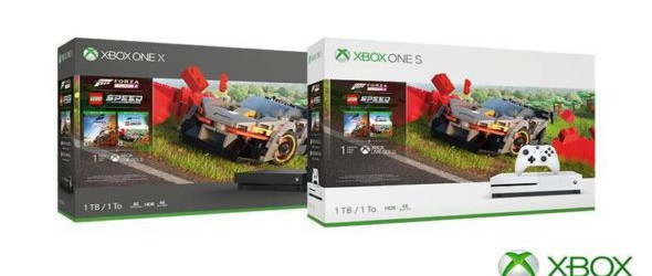 New Xbox One Forza 4 LEGO Speed Champions bundles available now
