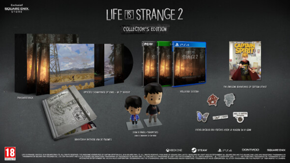 Life Is Strange 2 gets a physical release