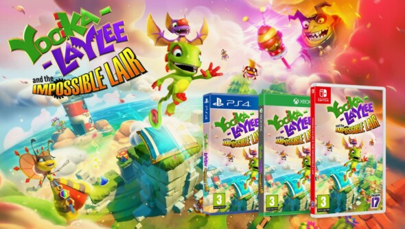 Yooka and Laylee make the jump to classic platforming in The Impossible Lair, out now!