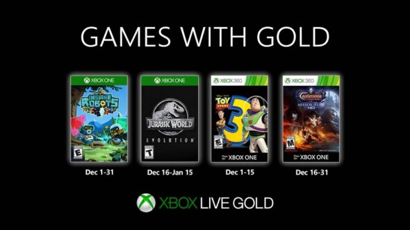 Games with Gold December 2019 list