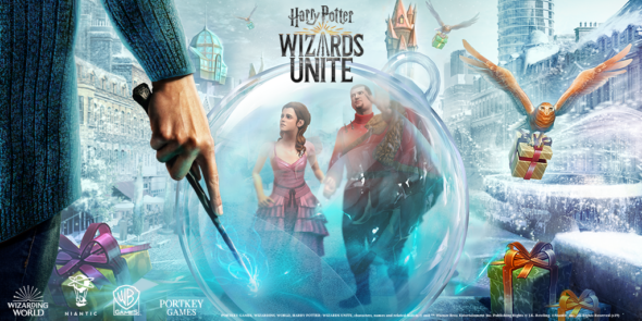Celebrate Christmas early in Harry Potter: Wizards Unite
