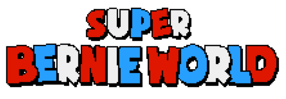 Save America in Bernie Sanders' shoes in political platformer Super Bernie World