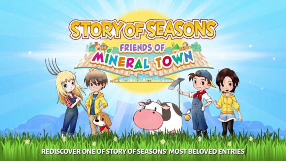 Story of Seasons: Friends of Mineral Town blooms on Nintendo Switch and Windows PC today!