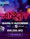 Boot up your cyberdeck, jack in, and prepare to fight in Haxity's beta!
