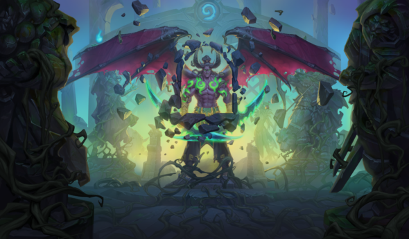Hearthstone releases the prologue for the new Demon Hunter class