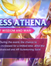 Improved chances to summon Athena in Saint Seiya Awakening!